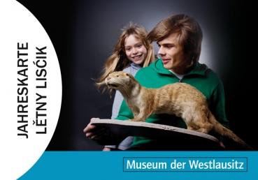 Familien-Jahreskarte für drei Museen in der Lausitz